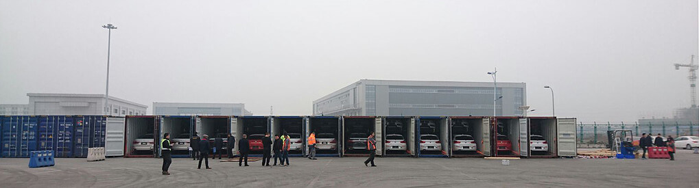 BMW Chongqing Unloading Panoramic